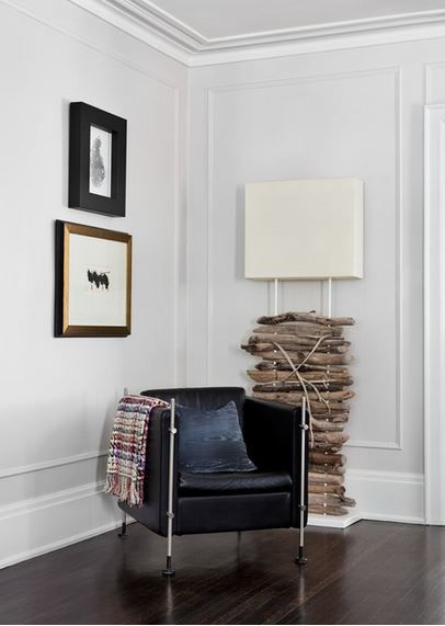 Tall Rectangles Of Picture Frame Moulding Without A Chair Rail Simple Yet Elegant