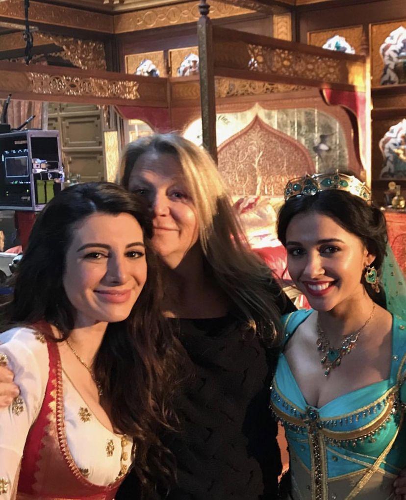 Aladdin 2019 Bts Jasmine And Dalia Aladdin Aladdin Movie
