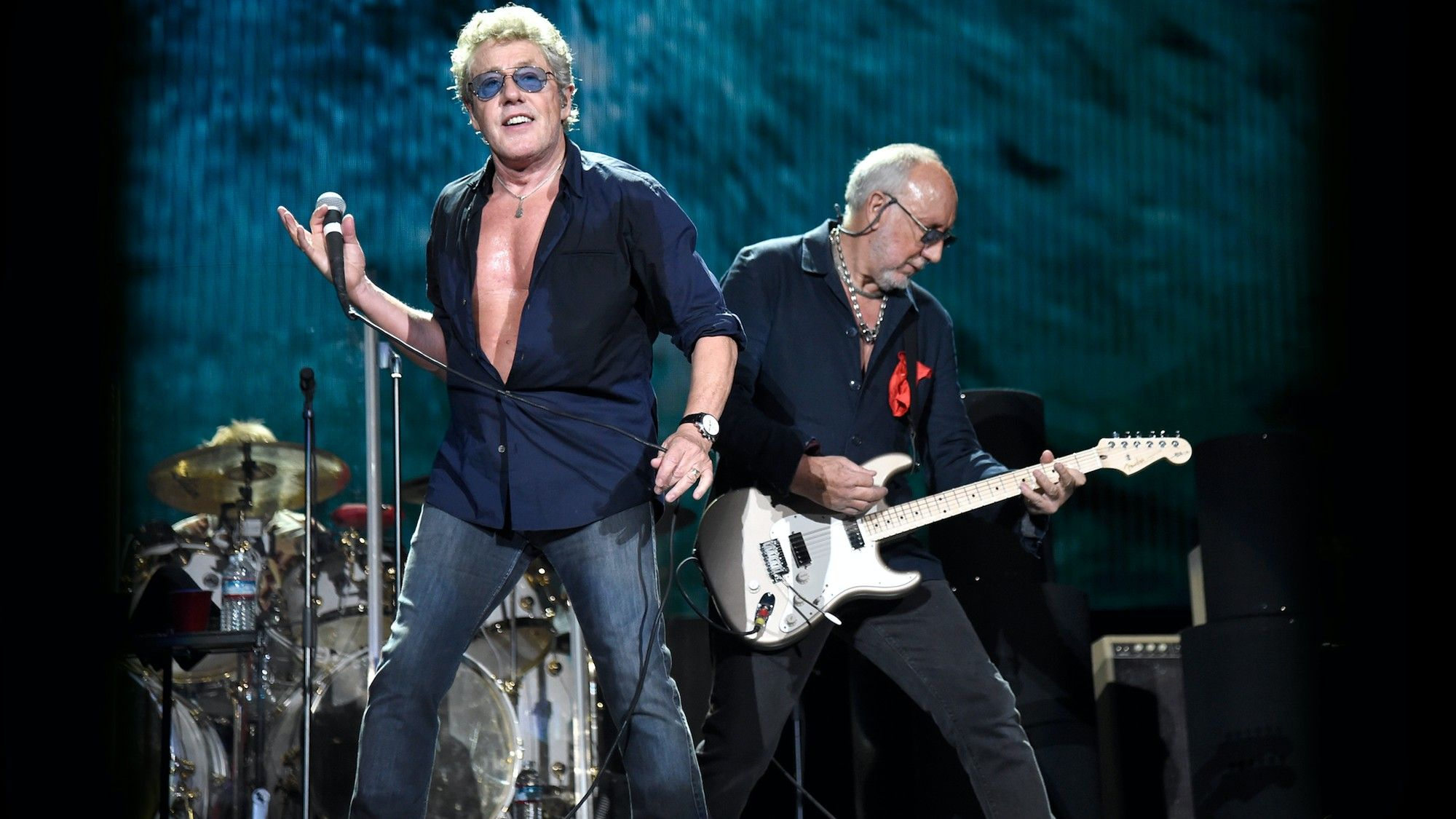 Roger Daltrey from The Who Is Still Having a Massive Laugh