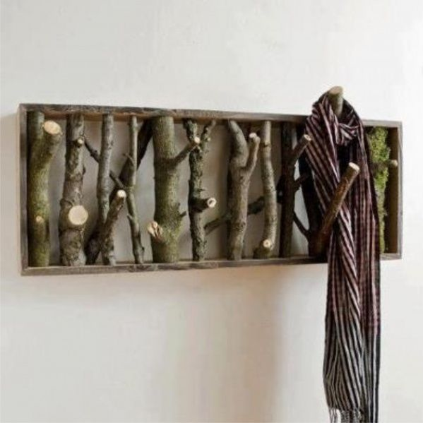 Paul would make this coat hook!      30 Vintage DIY Coat Hooks