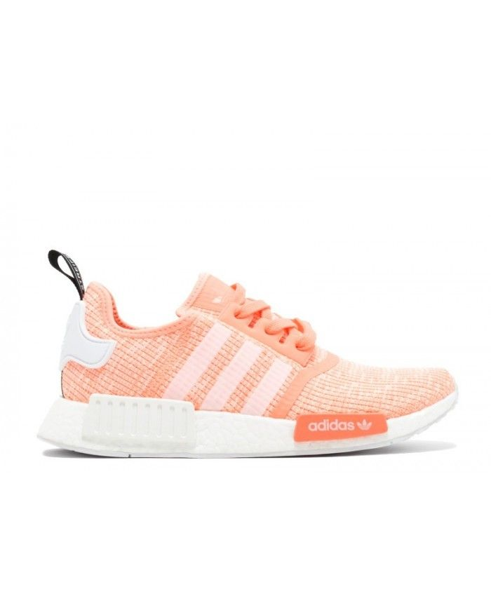 Chaussure Adidas NMD R1 Sun Glow/Ftwr Blanche/Haze Coral BY3034