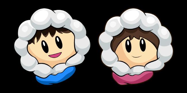 Popo And Nana Ice Climbers Ice Climber Super Smash Bros Brawl Nintendo Charac Personajes De Videojuegos Imagenes De Videojuegos Arte Conceptual Disney