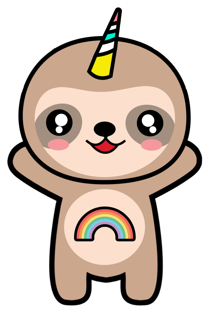 Cute Sloth Clipart at GetDrawings.com | Free for personal use Cute ...