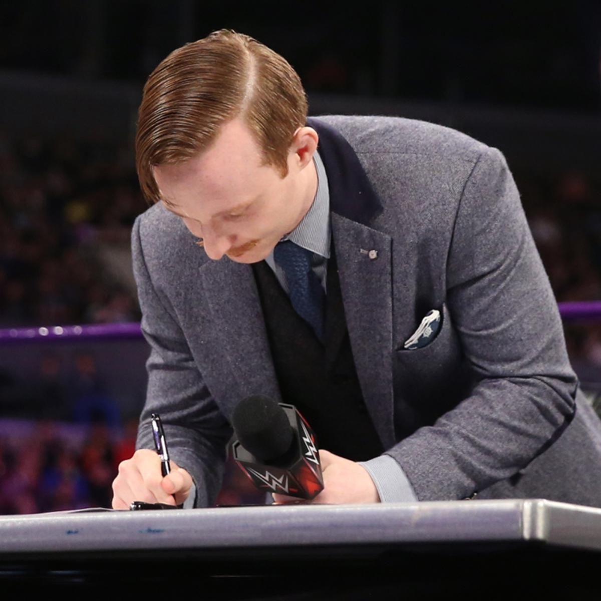 Fotos: Neville, Gallagher machen ihr WWE Fastlane Match ...