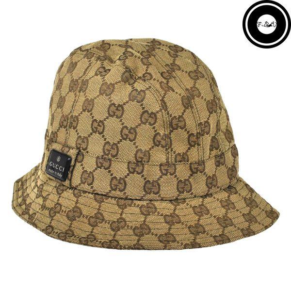 d4a82e4cb8dec Vintage Gucci Monogram Bucket Hat