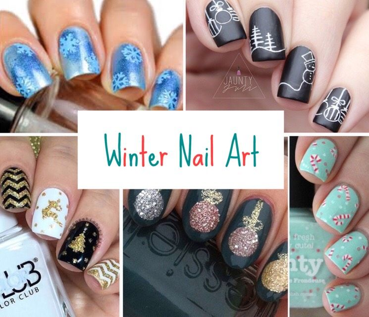Winter Nail Art You\'ll Want RIGHT NOW. | Musely | Pinterest | Winter ...