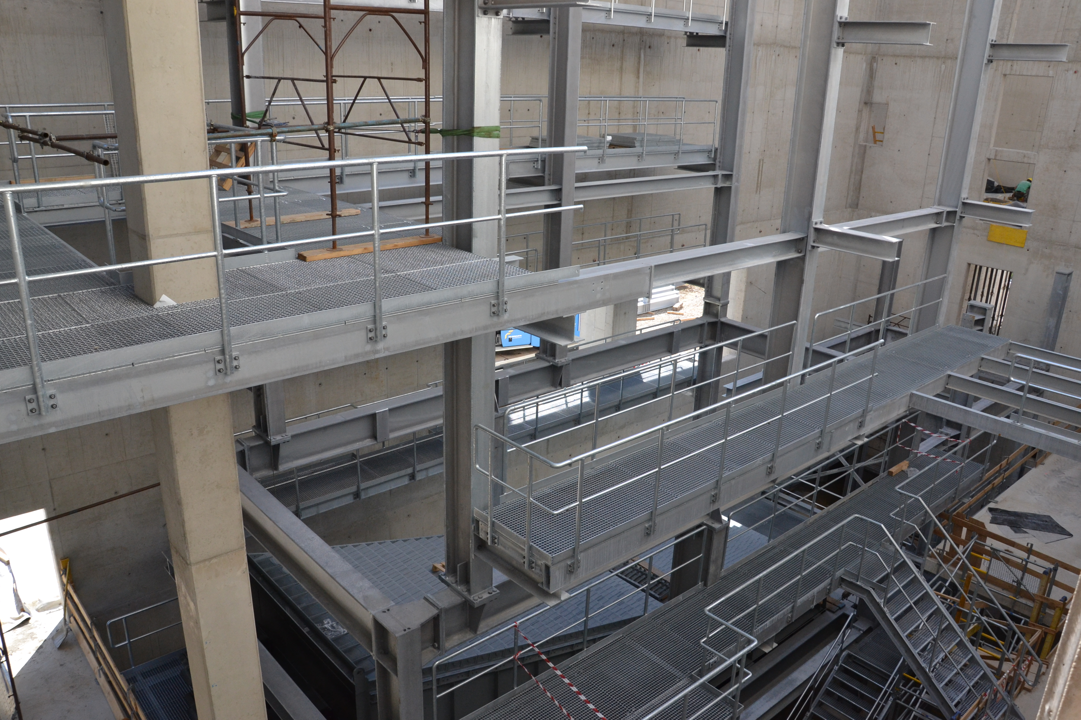 Grated Walkway System In Biomass Fired Power Plant