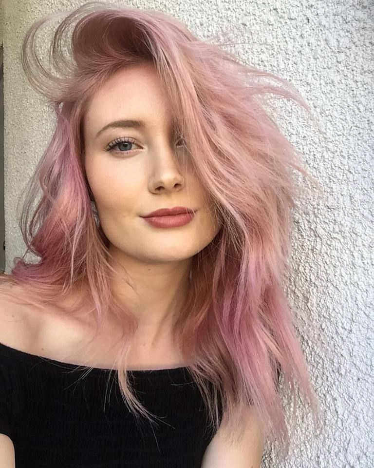 Candy Floss Pink Avedacolor Pureaveda Hair Color Pink Beauty Hair Color Hair Color Pastel