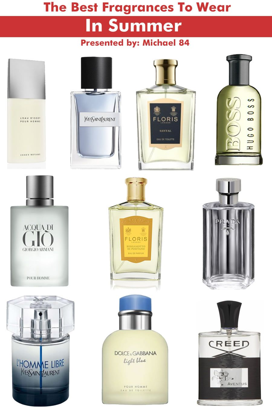 The 10 Best Men S Fragrances For This Summer Con Imagenes