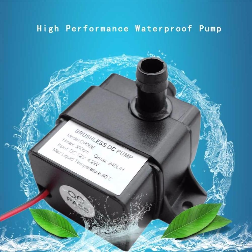 Pompe Submersible 12v Dc 12v 4 2w 240l H Brushless Permanent Magnetic Rotor Submersible