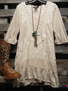 c67a5844e9e Off To Billy Bobs Vintage Cream Lace Dress Lace Tunic, Lace Dress, Tunic  Shirt