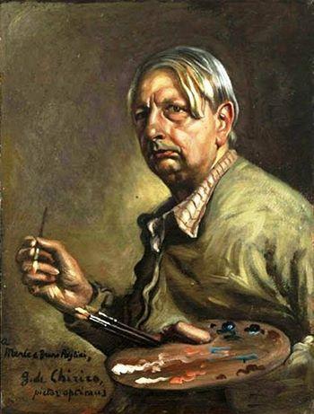 Giorgio de Chirico - Autoritratto come pittore, ca  1947-48