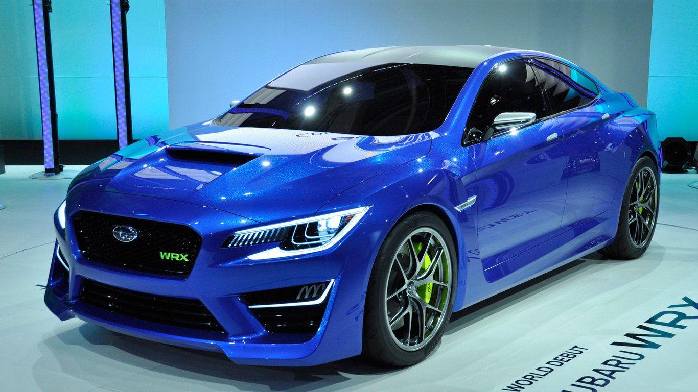 Blue Subaru WRX Concept Wallpaper Subaru wrx, Wrx