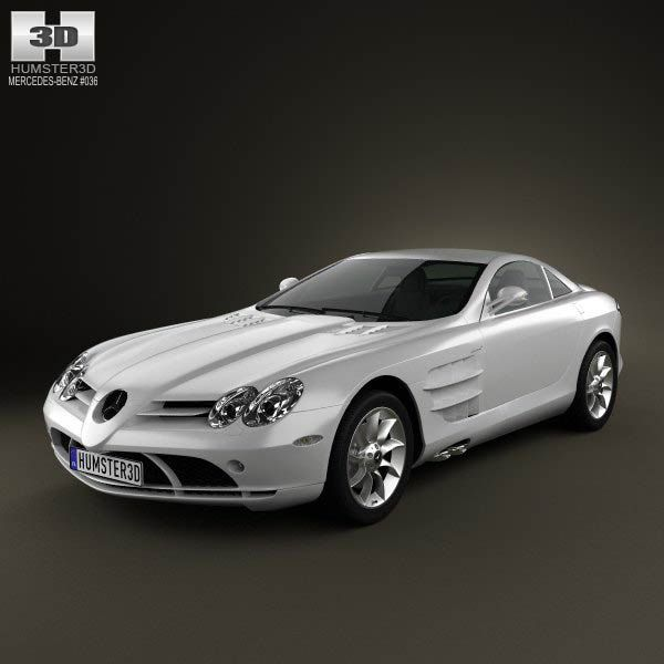 Mercedes-Benz SLR McLaren 2005 3d model from humster3d.com. Price: $75