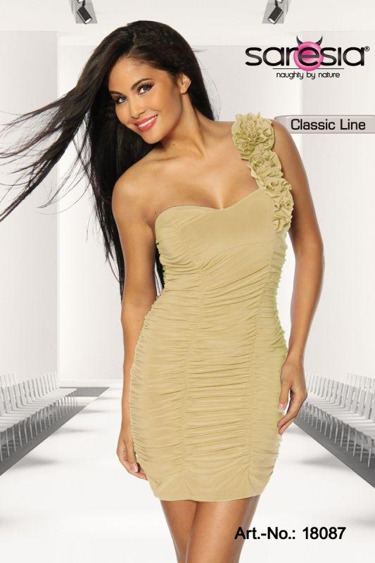 #Cocktailkleid in creme-18087 - My-Kleidung Onlineshop ...