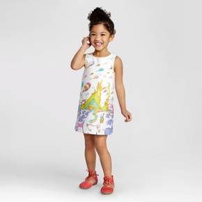 2aab7be2166e Toddler Girls' Dr. Seuss Shift Dress from OshKosh® - Fresh White : Target