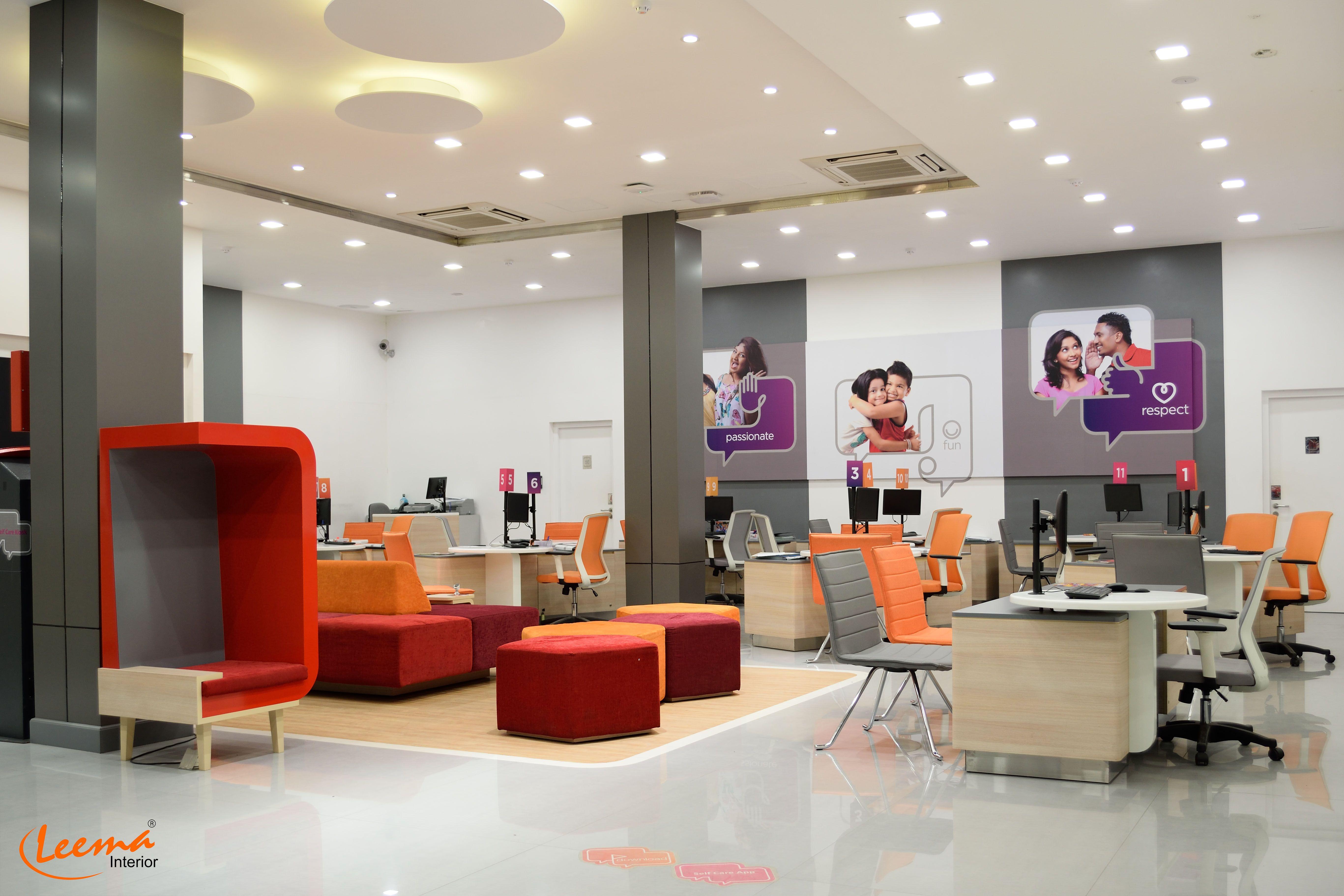 Dialog sri lanka head office interior decoration for Interior designs in sri lanka