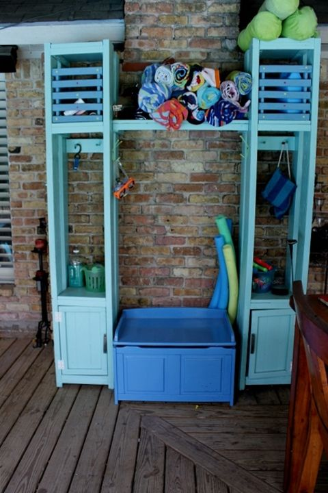 Pool Storage From Quot Organized Pool Toys Amp Supplies