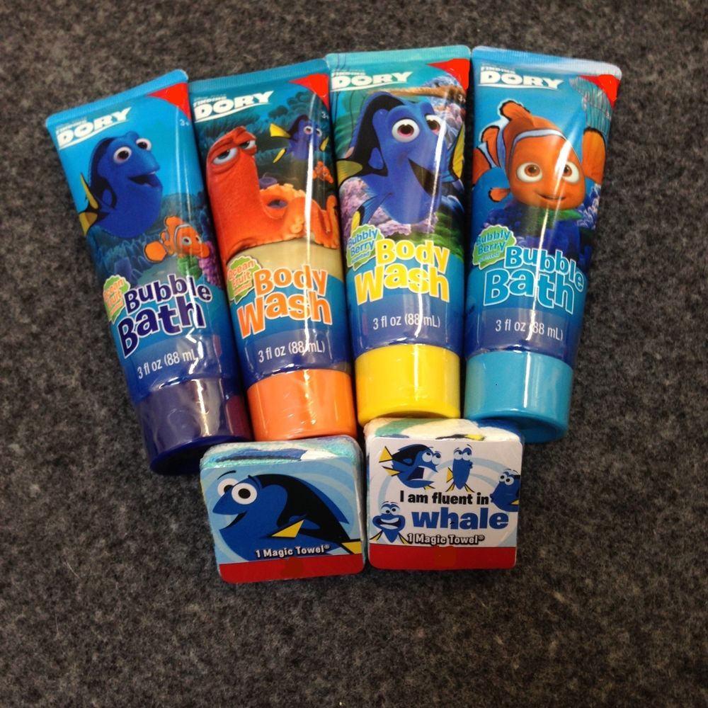 Nemo Bathroom Set Disney Pixar Finding Dory Bath Set Body Wash Bubble Bath Magic