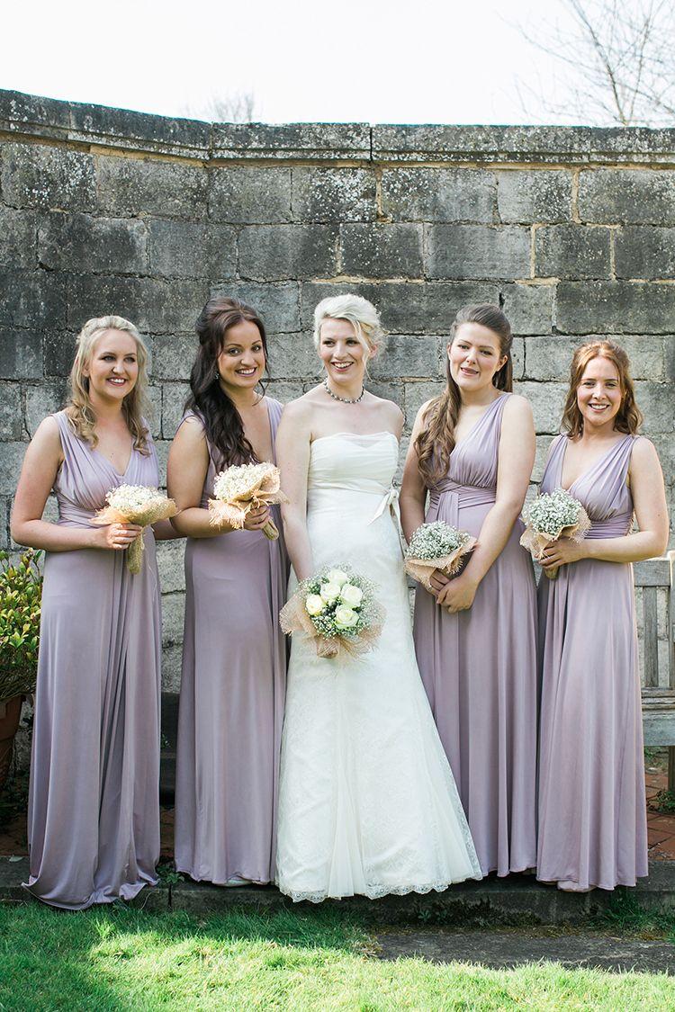 Natural woodland inspired diy rustic wedding lilac bridesmaid long lilac bridesmaid dresses natural woodland rustic wedding httpsamanthawardphotography ombrellifo Gallery
