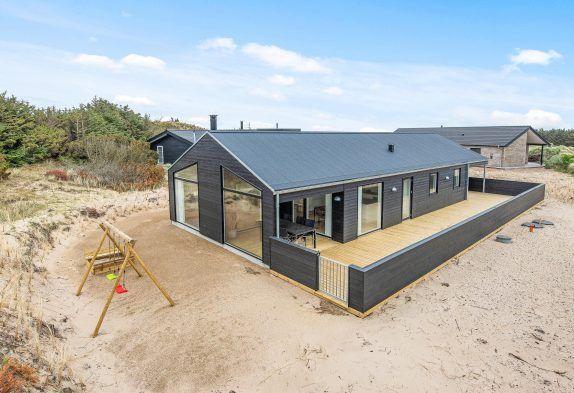 Modernes 5 SterneFerienhaus, Strandnah mit Hund Esmark