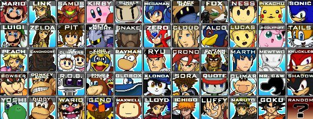 Super Smash Flash 2 starter roster | Stuff I Like | Super smash