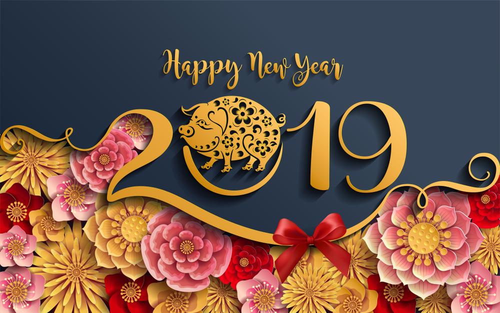 Tải hình nền Happy New Year 2019 đẹp nhất cho máy tính