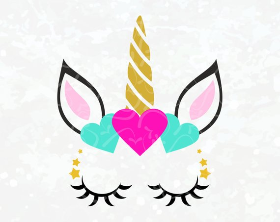 Unicorn Vector Svg Unicorn Clipart Unicorn Eye Unicorn