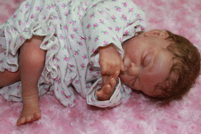 Cute doll ALYSSA REECE looks innocent&comma