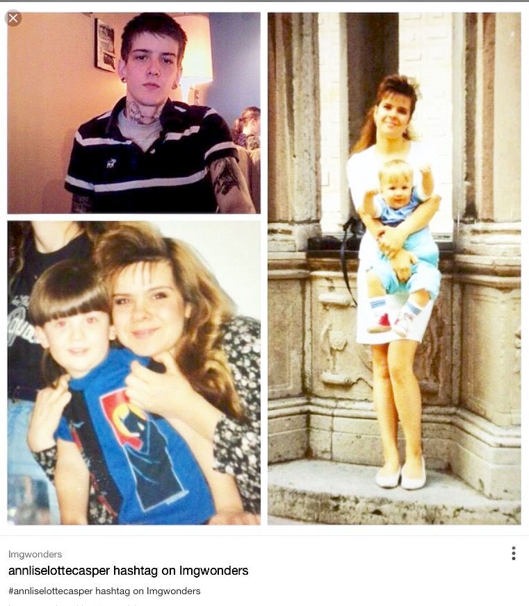 Frida's daughter Lise Lotte and son Jonatan Casper