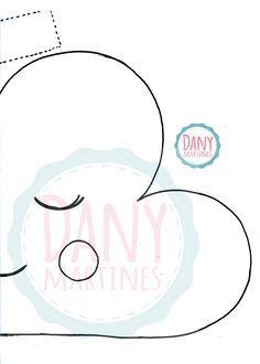 Resultado de imagen para diy bebe almohadas | Almofada nuvem