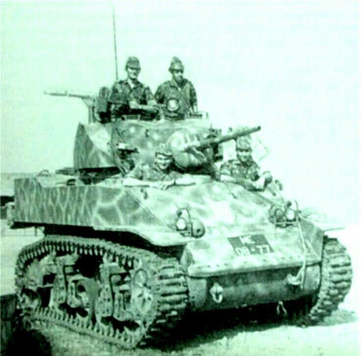 M5a1 Stuart Usmc