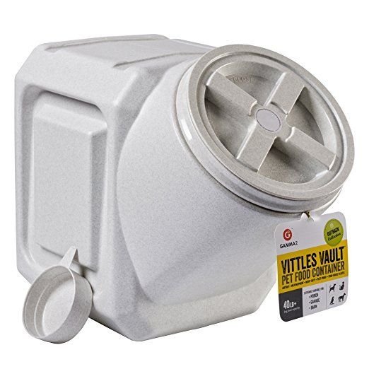 Vittles Vault Outback Stackable 40 Lb Airtight Pet Food Storage