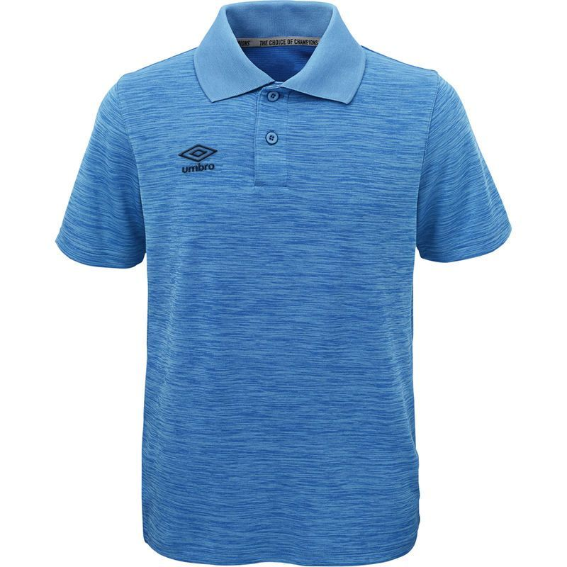 Download Umbro Polo - Heathered Blue | Polo, Mens tops, Shirts