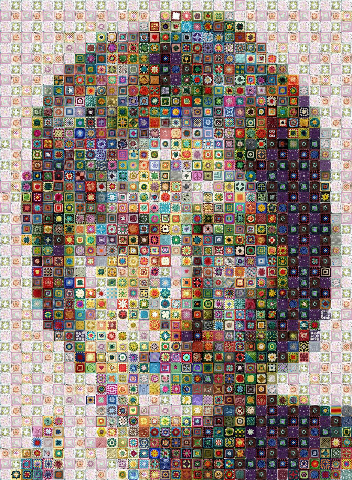 WBK Crochet John Lennon-Art-33x45 by workbyknight.deviantart.com on @deviantART
