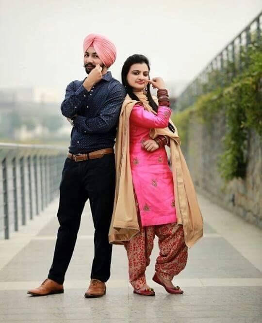 pure punjabi couple couples