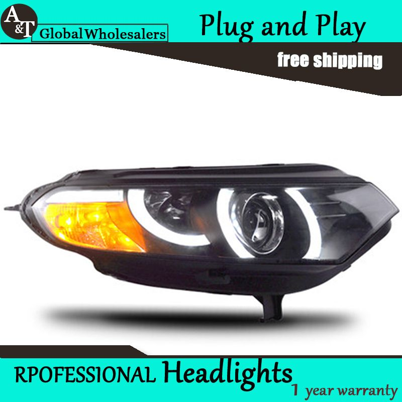 A T Car Styling For Ford Ecosport Headlights Sonar Led Headlight