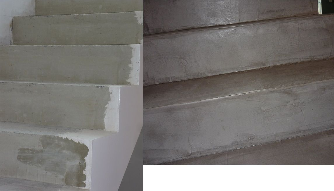 Sur béton Escalier Béton ciré Pinterest Beton, Escalier beton - peinture exterieure sol beton