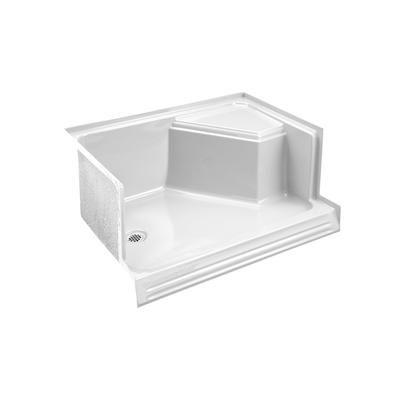 Kohler Memoirs 48 Inch Shower Receptor In White K 9486 0