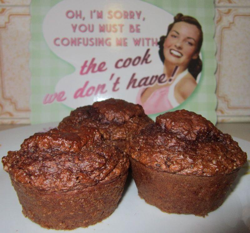 [A Daft Scots Lass]: Dukan Chocolate Oat Bran Muffins