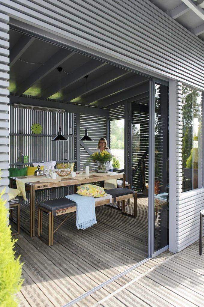 Elämää puutarhassa: Takapihan terassi + pergolakatos | Puutarhasuunnittelu Puksipuu