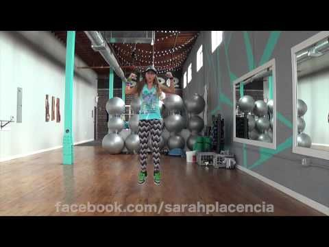 ▶ Dance Fitness with Sarah Placencia - Boom Boom Mama - YouTube