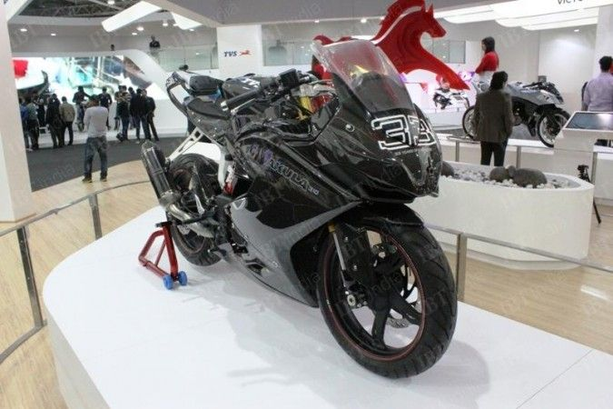 Tvs Akula 310 Likely To Be Named Tvs Raptor In Production Version