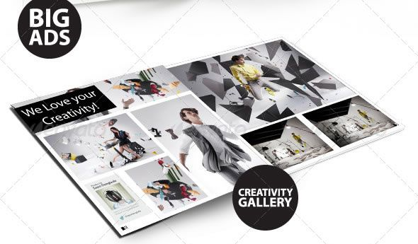 webmag - indesign magazine template | editorial design | pinterest, Powerpoint templates