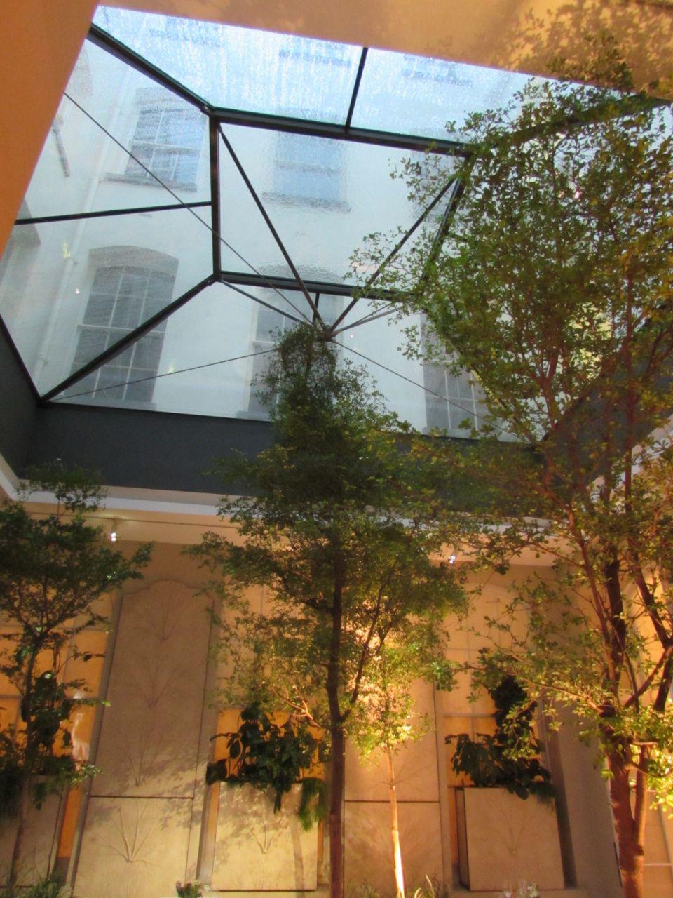 Huge Glass Atrium Roof Atrium Design Atrium House Atrium