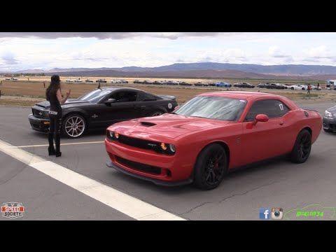 2015 Dodge Challenger Srt Hellcat Vs Doesn T Matter Who Hellcat