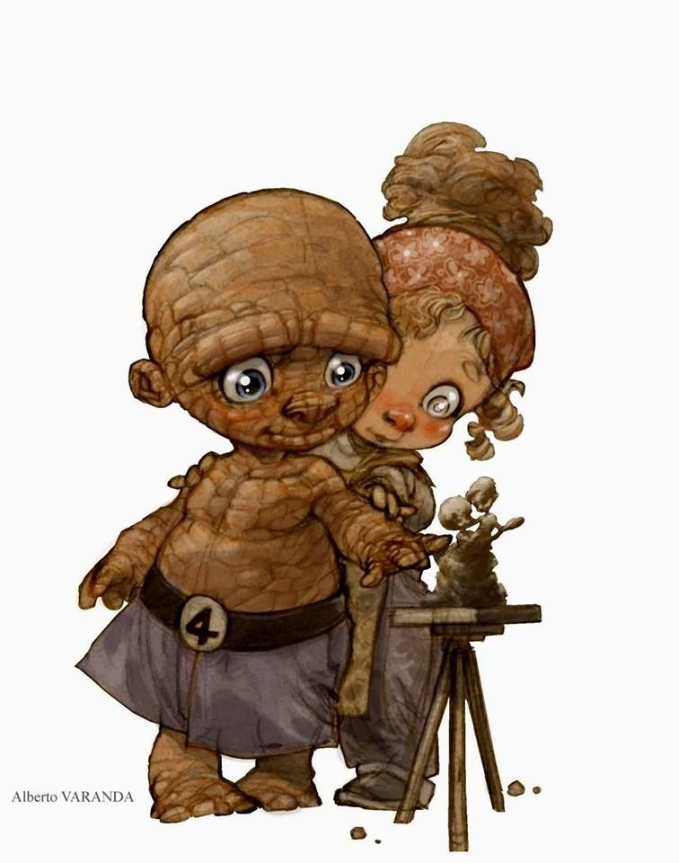 Little heroes by Alberto Varanda