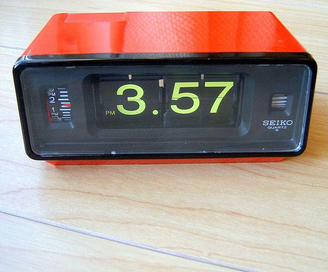 Seiko Flip Clock With Alarm Vintage Alarm Clocks Clock Electronic Gift Ideas