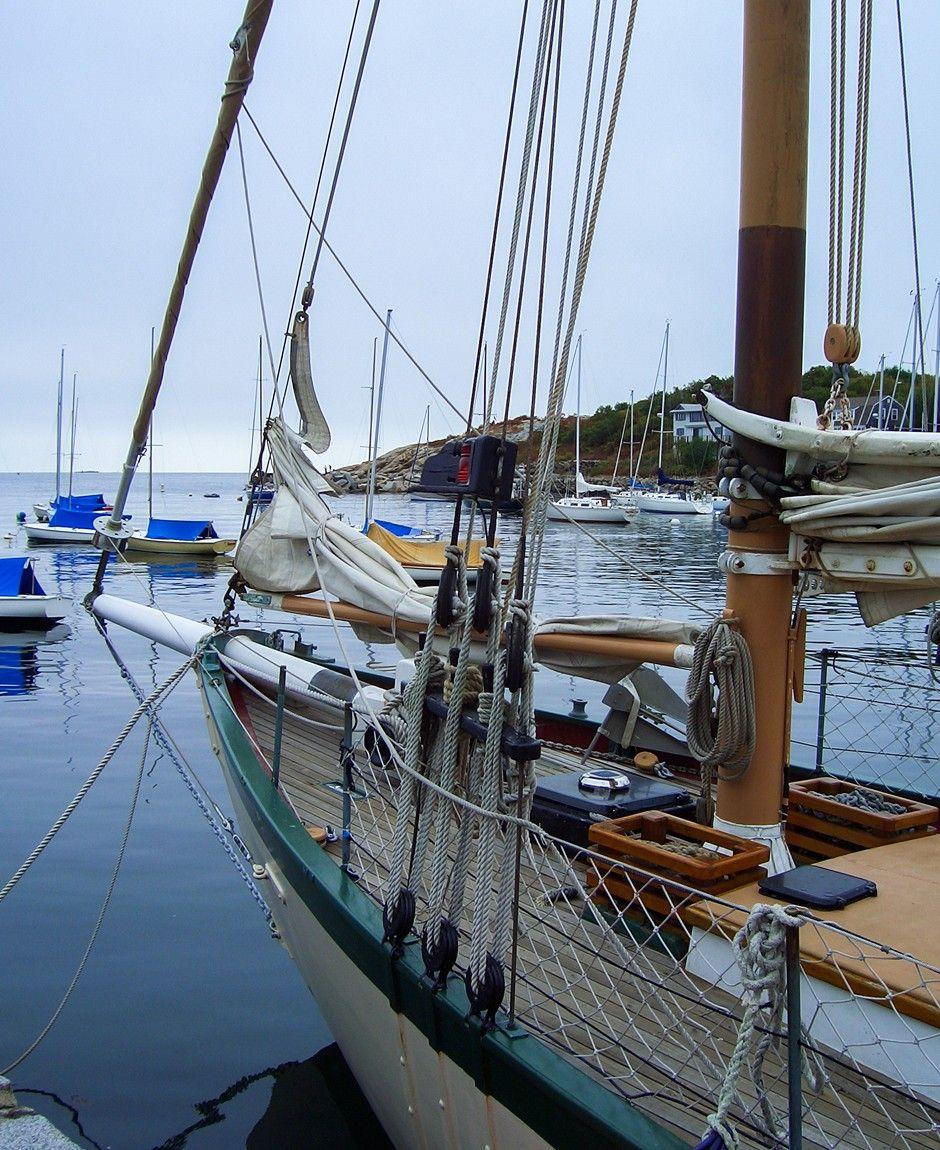 Segelboot in Rockport, Massachusetts  ... #segelboot #rockport #massachusetts #neuengland