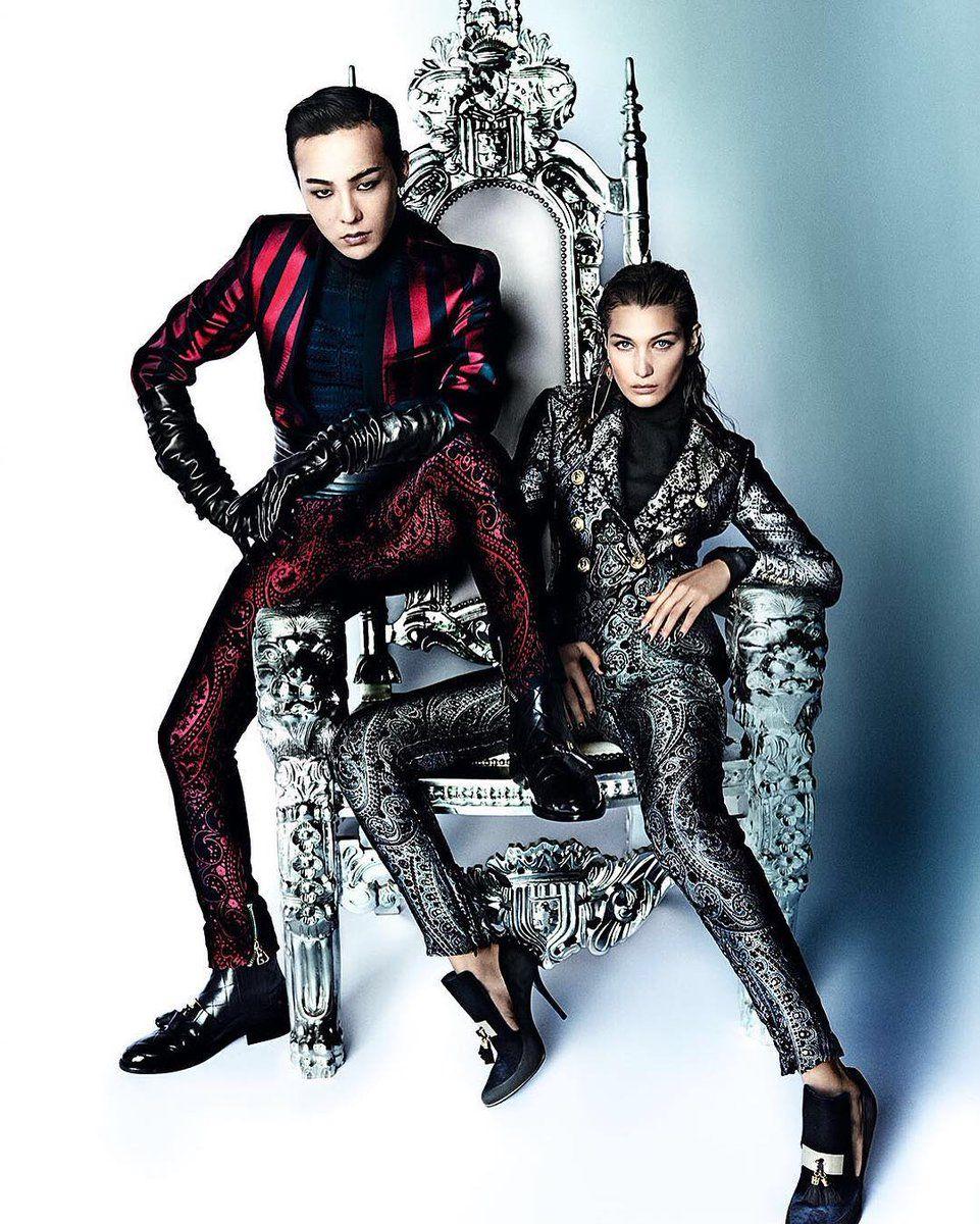 GDragon ❤ GD Inside VOGUE Me with Bella Hadid #Bigbang